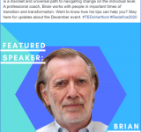 Brian Gorman's TEDx Hartford talk Dec. 6th